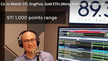 Money FM - STI 1,000 point range