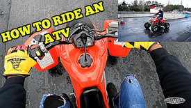 How To Ride An ATV (1 of 3 videos)