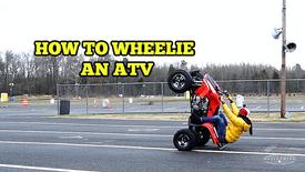 How To Do A Wheelie (2 of 3 videos)
