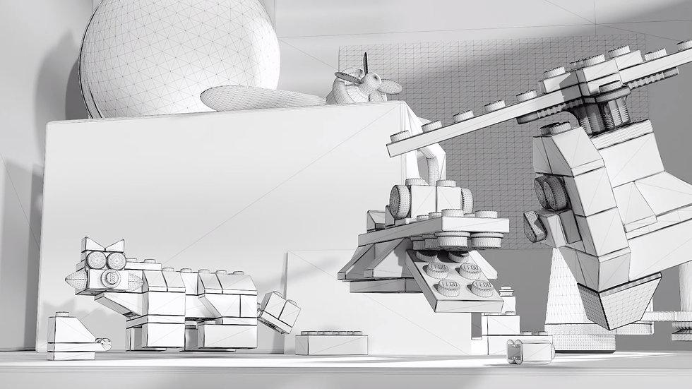 LEGO Making of