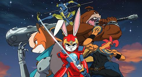 Super Turbo Atomic Ninja Rabbit / The Line