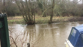River after the storms - 16 Feb 2020
