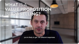 What Is A Value Proposition in B2B Sales