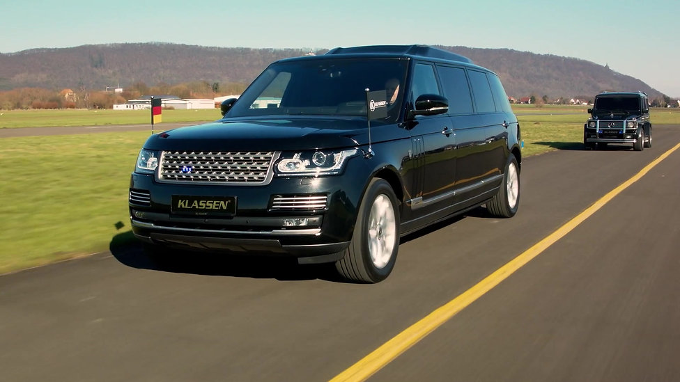 Range Rover  +1016mm  Stretched and armored vehicles