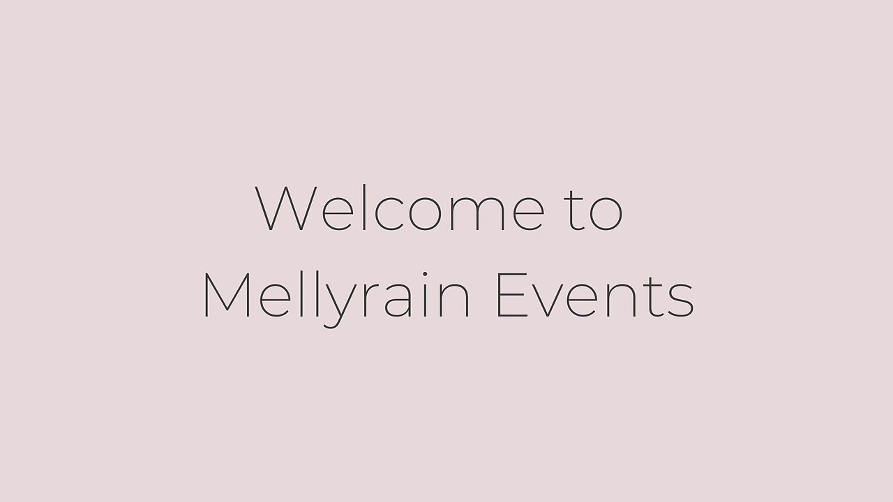 Welcome to Mellyrain Events
