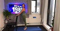 80`s Barre Pilates Class