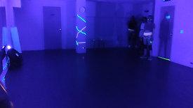 NEON Twerk 1st class (footage isnt great)
