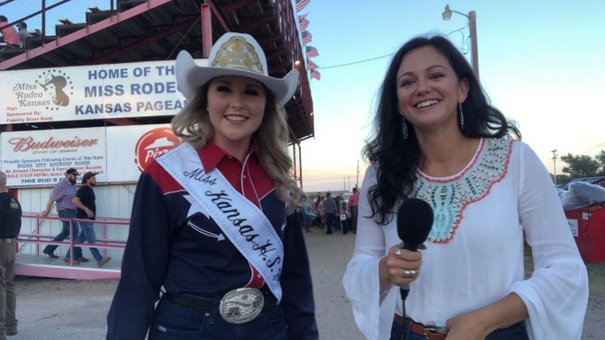Miss Kansas HS Rodeo Queen, Brayley Frazier