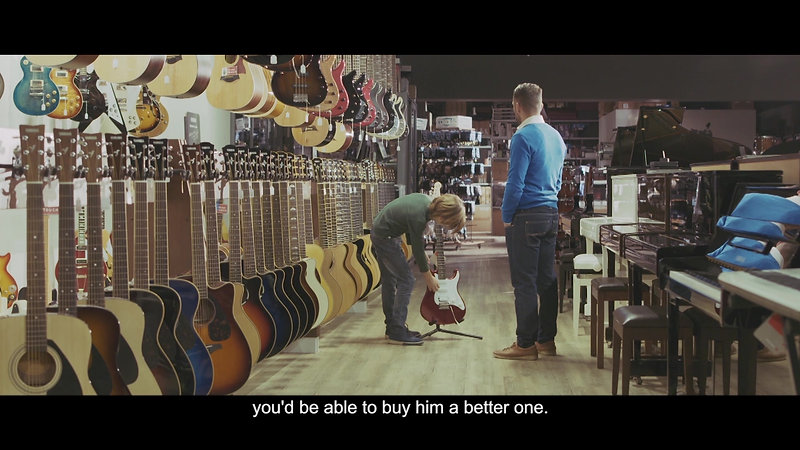 RGF Advert Guitar