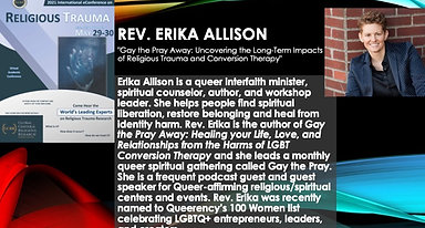 """""""Gay the Pray Away: Uncovering the Long-Term Impacts of Religious Trauma and Conversion Therapy"""" (Erika Allison)"""