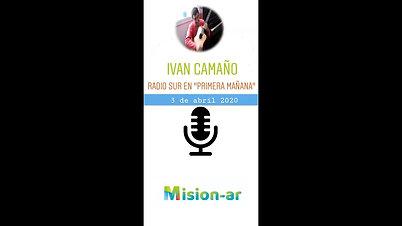 """Ivan Camaño en Radio Sur durante """"Primera Mañana"""""""