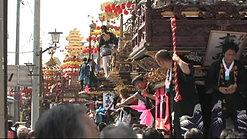 放生津八幡宮祭:曳山祭