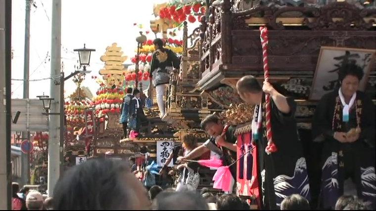 放生津八幡宮秋季例大祭