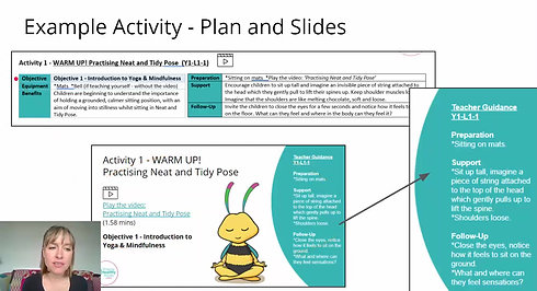 Example Activity - The Plan and Slides