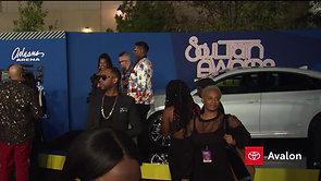 BTS form the Soul Train Awards Black Carpet 2018