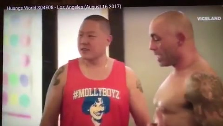 VICELAND: Eddie Huang & Joe Rogan at Hot Yoga Agoura