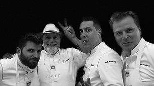 CHEFS' CLIP N°1  Stars, Food & Wine