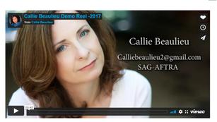 Callie Beaulieu Demo Reel -2017