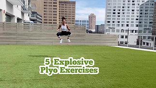 5 Explosive Plyo Exercises