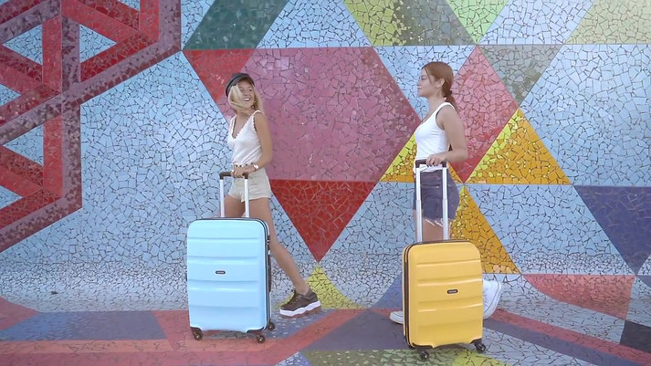 Komodo x American Tourister