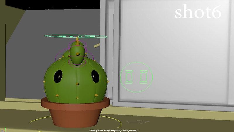 Windowsill Battle 3D Animatic