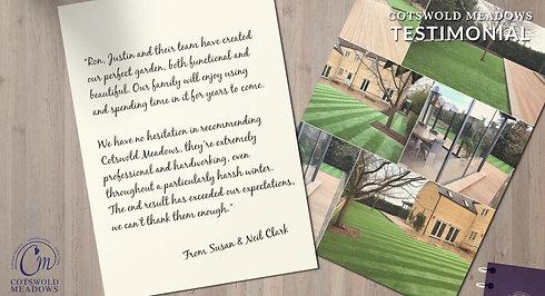 Mr & Mrs Clark testimonial