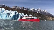 Navegacion Lago Grey, Parque Nacional Torres del paine