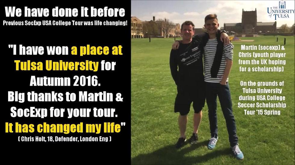USA Tour university