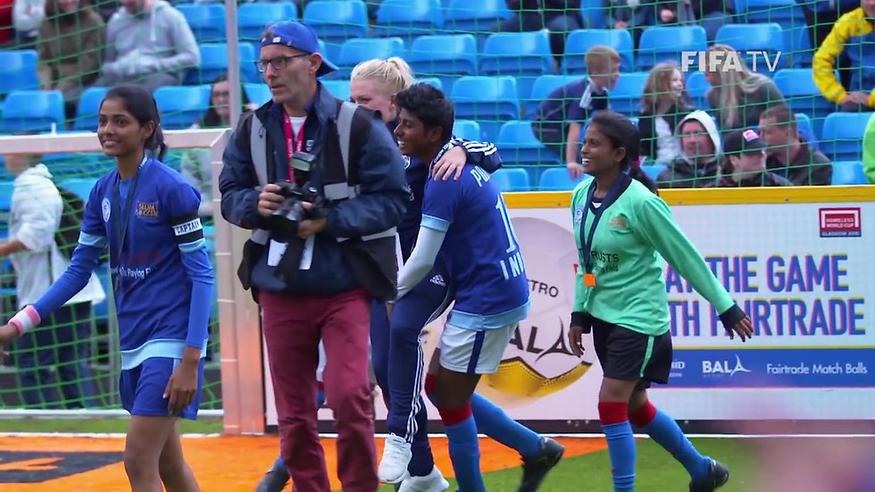 Changed Lives at the Homeless World Cup