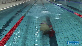 Pool Lifesaving Sport - Manikin Carry