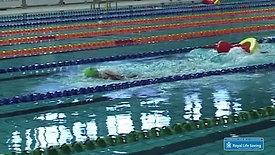 Pool Lifesaving Sport - Manikin Tow