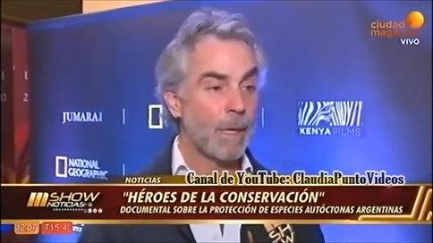 TV Juan María Raggio Director de Heroes de la conservación
