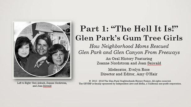 Glen Park's Gum Tree Girls - 1