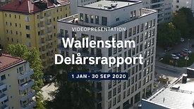Wallenstam Delårsrapport 3, 2020