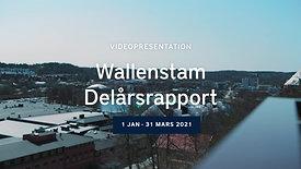 Wallenstam Delårsrapport 1 2021