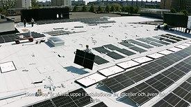 Trianon Fastigheter Solceller Malmö Rosengård Centrum 2021