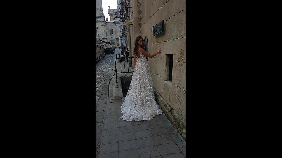 Valeri Gross 2020 Iris  gown