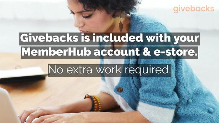 MemberHub Givebacks
