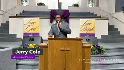"""""""There Is Nothing Too Hard For The Lord"""" 