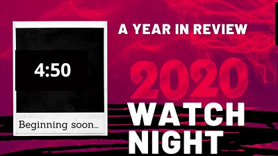 2020 Year in Review, Watch Night Service