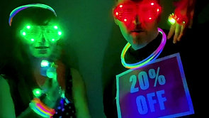 New Years Eve Glow Sale Promo for Instagram