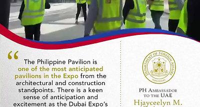 PH Bangkóta Pavilion takes shape at Expo 2020 Dubai