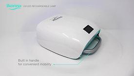 ikonna Rechargeable & Portable UV/LED lamp