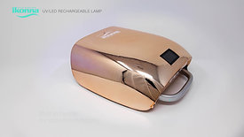 ikonna Rechargeable & Portable UV/LED lamp Rose Gold Color