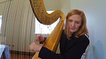Over the Rainbow harp cover