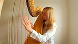Handel - Arrival of the Queen of Sheeba on harp