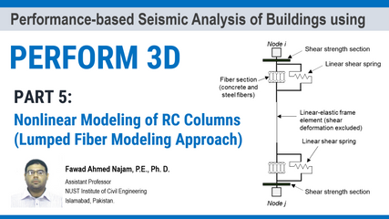 Part 5: PERFORM 3D – Nonlinear Modeling of RC Columns (Lumped Fiber Modeling Approach)