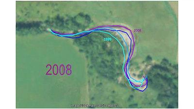 Mill Brook Erosion timeline