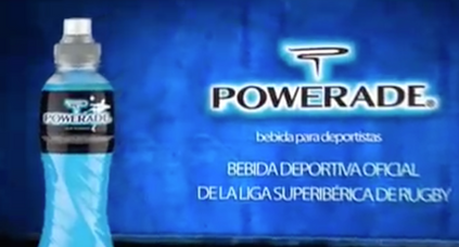 Anuncio Powerade Liga Ibérica de Rugby_ Michael Robinson