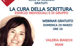 La cura della Scrittura - Valeria Bianchi Mian HSH